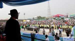 """Buhari Was Stoned In Bayelsa"" - Governor Dickson"